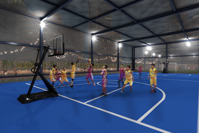 「ASOBUILD」MULTI SPORTS COURT
