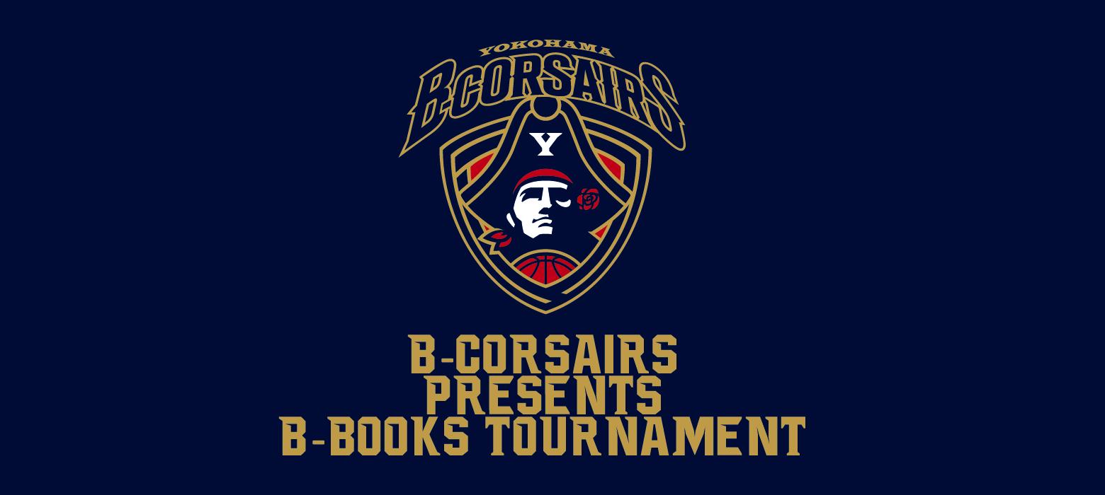 B-CORSAIRS Presents B-BOOKS ENJOY CUP