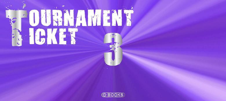 B-BOOKS TOURNAMENT TICKET(3大会分)