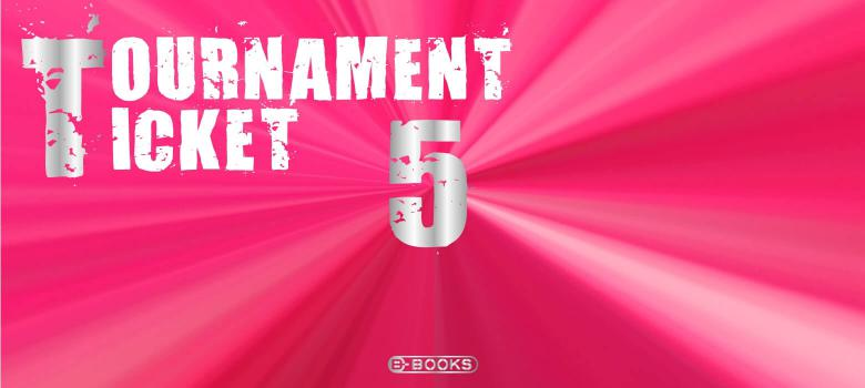 B-BOOKS TOURNAMENT TICKET(5大会分)