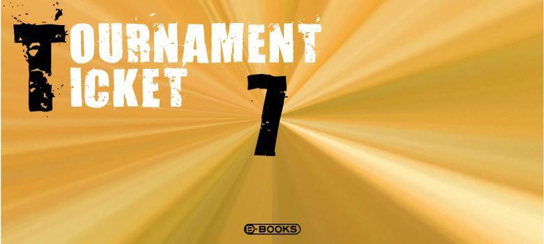 B-BOOKS TOURNAMENT TICKET(7大会分)