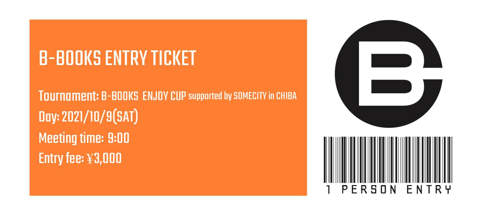 【個人参加】B-BOOKS ENJOY CUP supported by SOMECITY